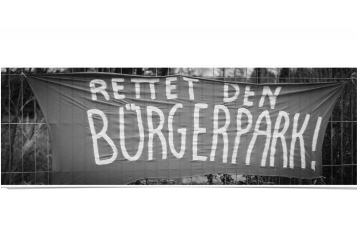 Protest gegen die Schließung der Bürgerparks in Bergen – Offener Brief an den Stadtrat