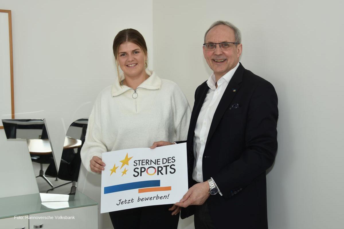 Jetzt bewerben! – 96-Stürmerin Anna-Lena Füllkrug übernimmt die Schirmherrschaft für die Sterne des Sports 202
