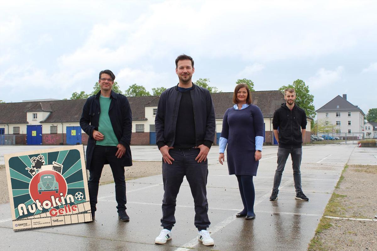 Celler Wohngemeinschaft initiiert großes Projekt: Erstes Celler Autokino in der CD-Kaserne