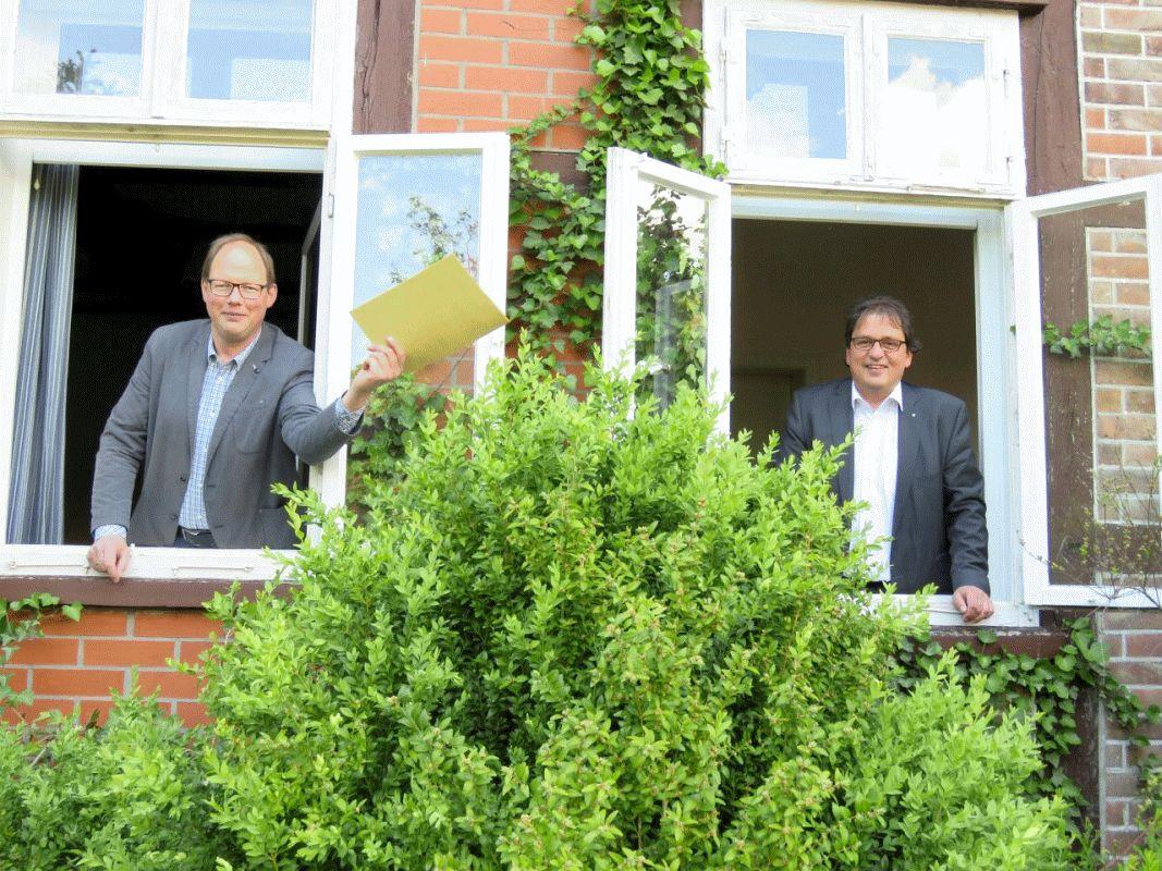 Gemeinde Südheide und Ev.-luth. St. Peter-Paul- Kirchengemeinde schließen Mietvertrag für eine Kindertagesstätte