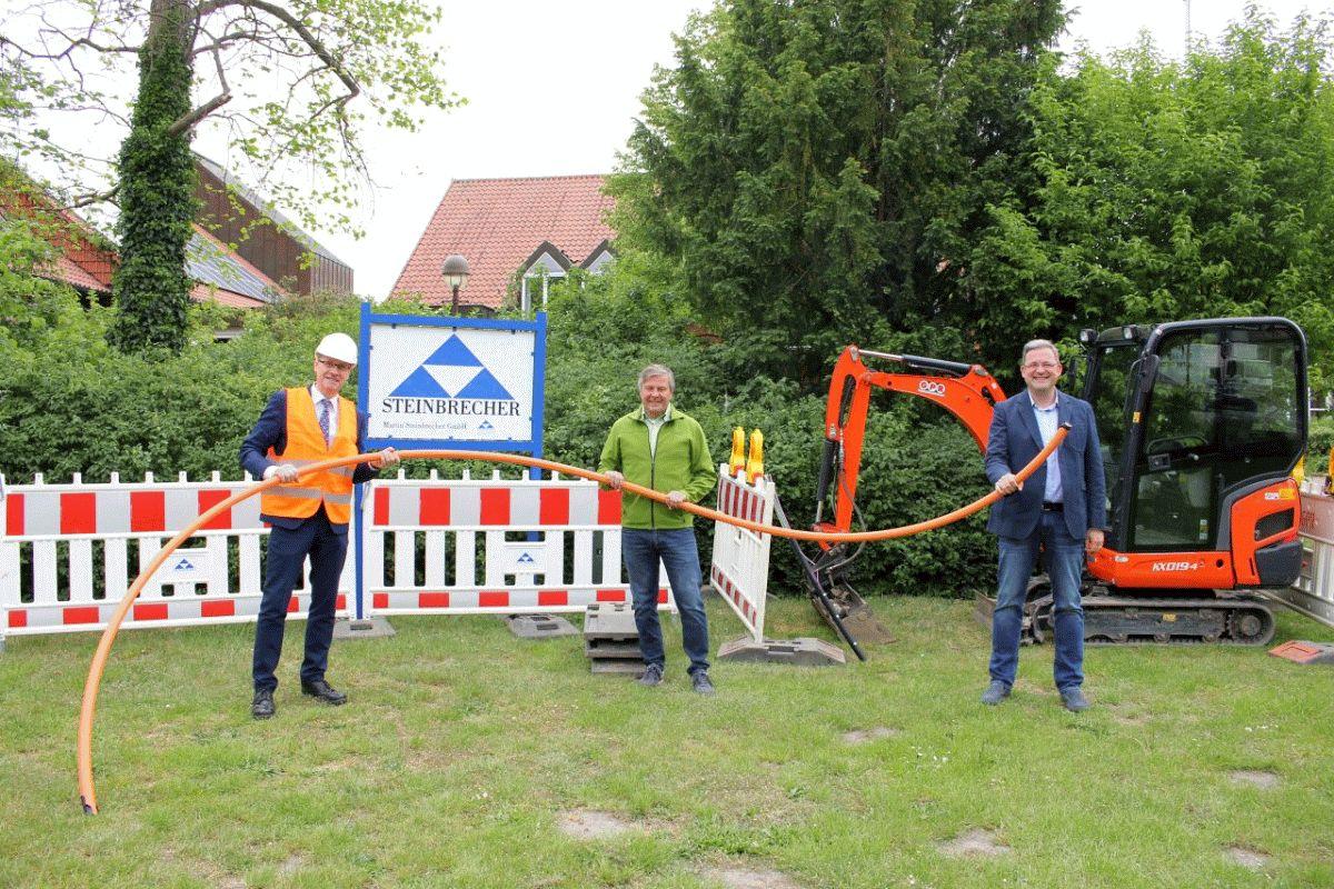 SVO startet Glasfaserausbau in Nienhagen