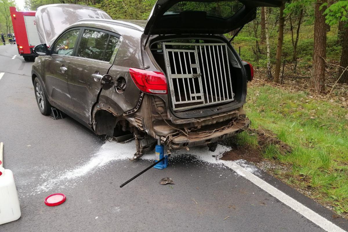 Schwerer Verkehrsunfall auf der L 180 bei Winsen/Aller *** aktualisiert
