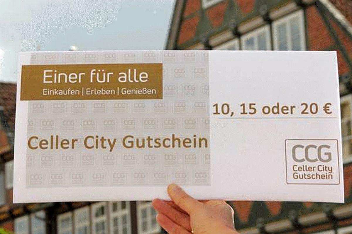 Think global – act local! – Celler City Gutschein bietet hervorragende Möglichkeit, die eigenen Mitarbeiter zu belohnen und den lokalen Einzelhandel zu stärken