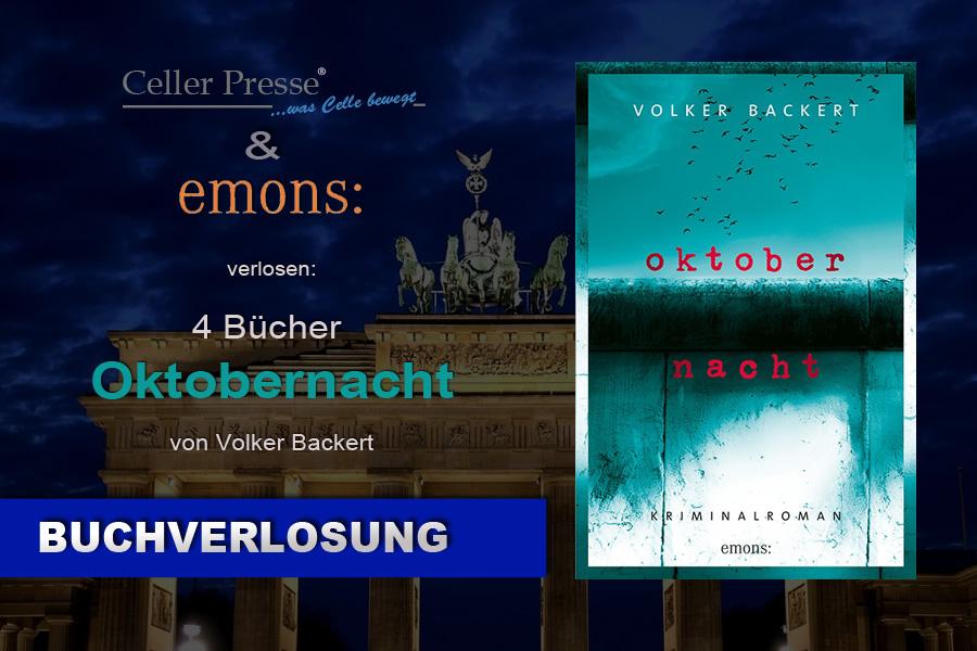 """Buchverlosung """"Oktobernacht"""""""