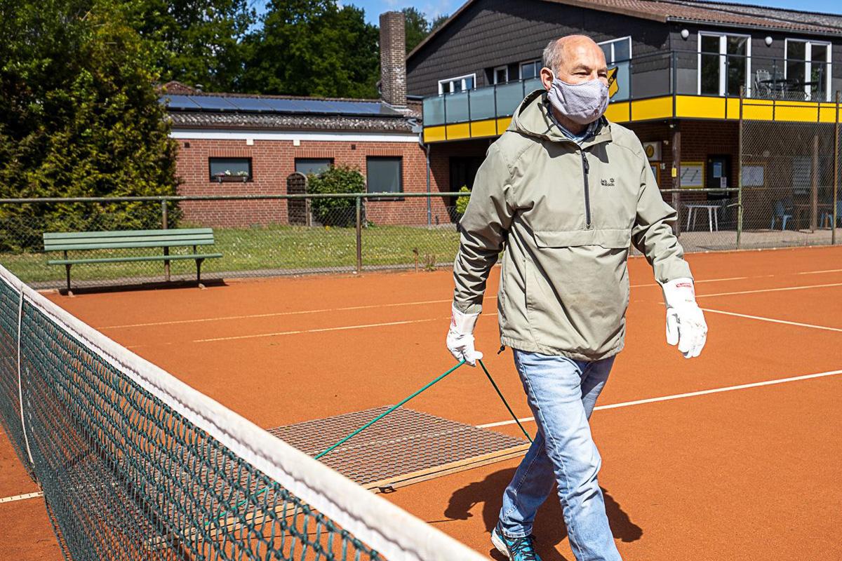 Verspäteter Saisonstart der Tennisspieler