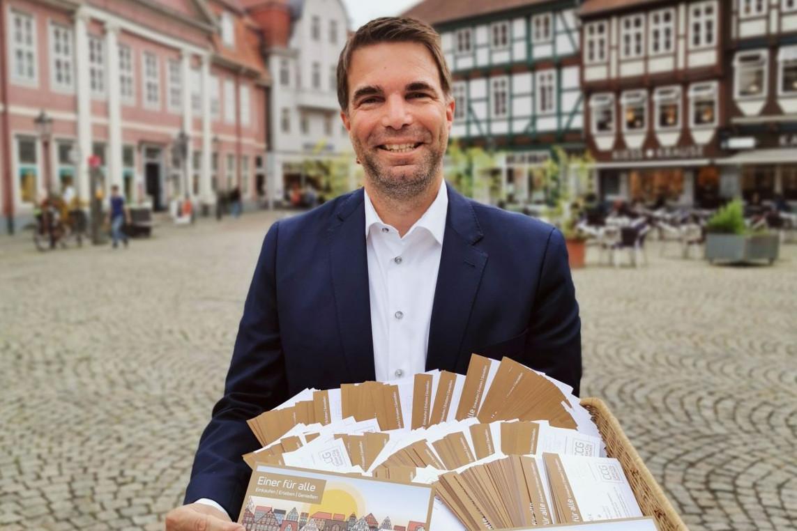Celler City Challenge: Gutscheine werden verteilt – Dank an Spender und Alltags-Helden