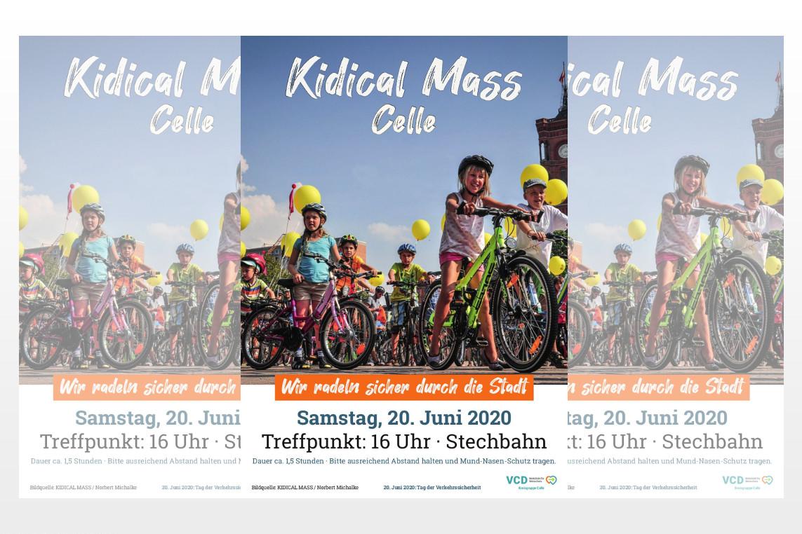 Demo für ein fahrradfreundliches Celle