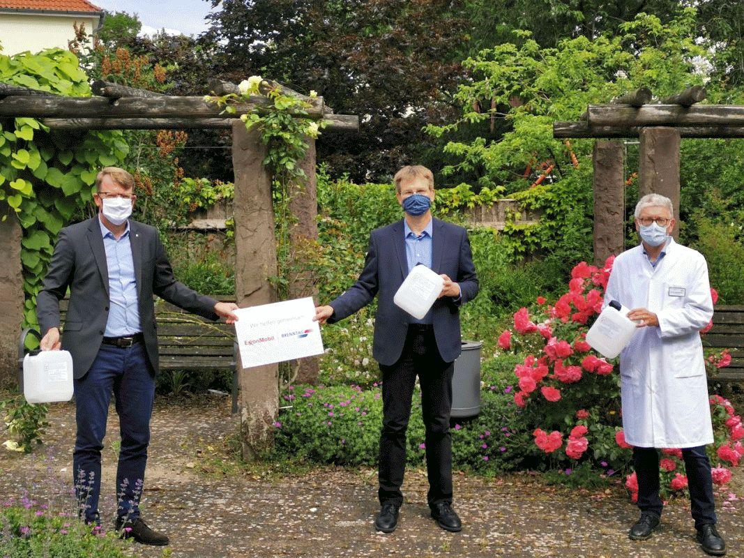 Desinfektionsmittel: ExxonMobil und Brenntag unterstützen niedersächsische  Landkreise