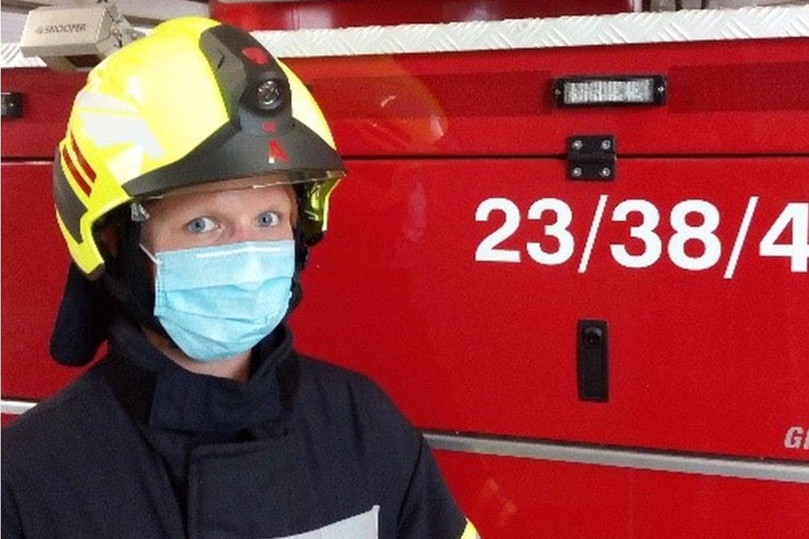 Feuerwehr und Corona: Einsatz- und Ausbildungsdienste mit Abstand