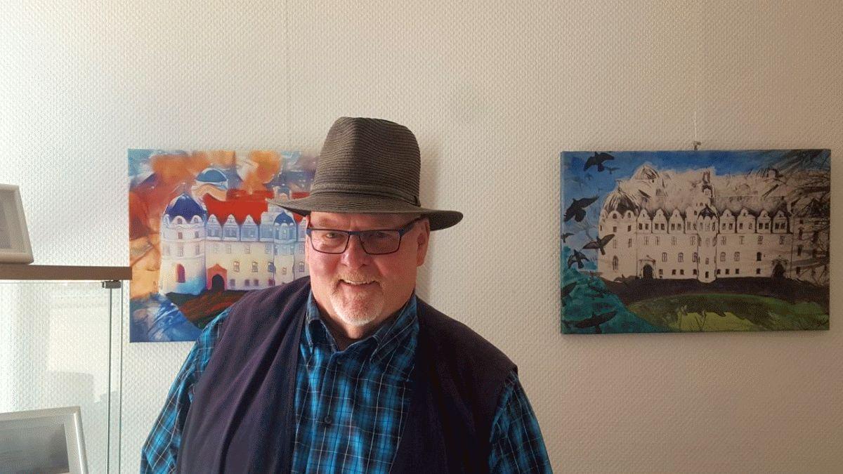 """Jürgen Paschke stellt im """"Kabinett"""" des Künstlerhauses aus"""