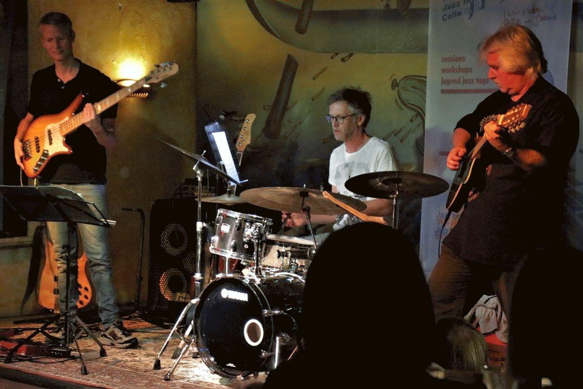 Jazz auf'm Land der Neuen Jazz Initiative Celle mit dem Uli Wißmann Trio