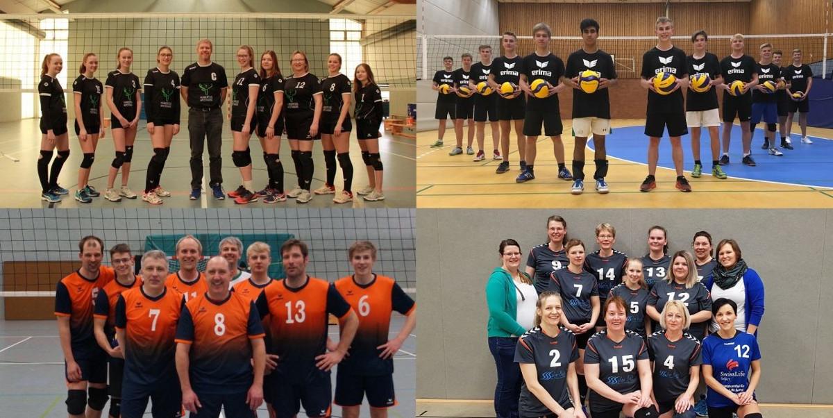 Neuer Volleyballstandort im Nordkreis  – Volleyballer vom TUS Bergen, TUS Hermannsburg und TSV Wietzendorf starten als SG Örtzetal in die neue Saison