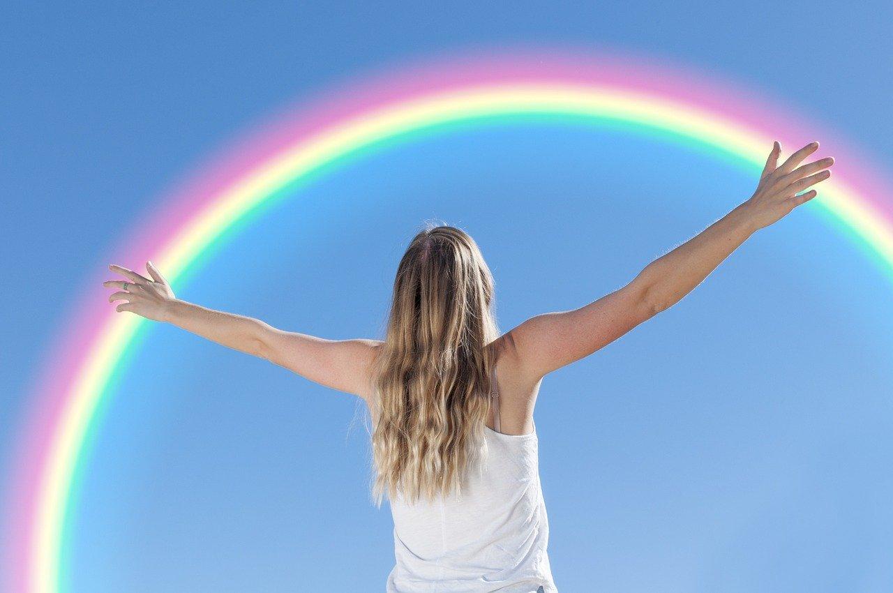 """""""Schenkt der Welt einen Regenbogen"""""""