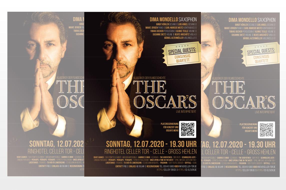 The Oscar's: Filmmusik-Ensemble mit erstem Konzert nach Corona-Pause –  Midsummer-Special im Celler Tor