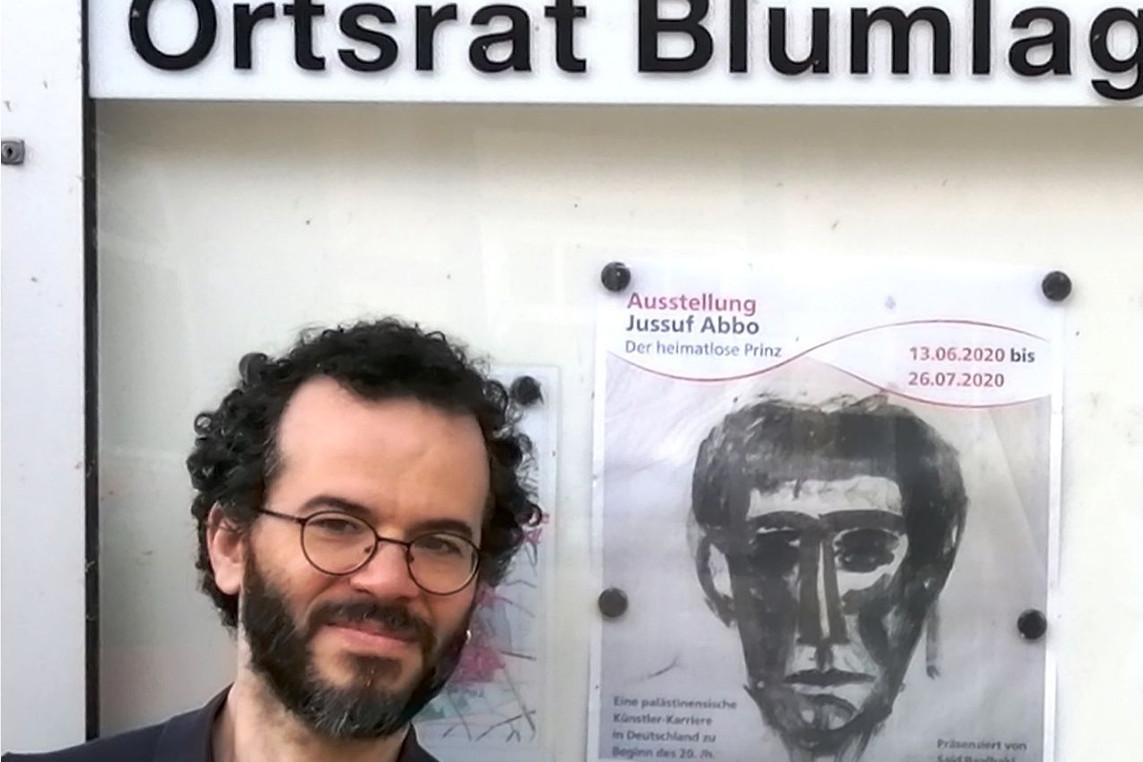 Zur Ausstellung der Werke von Jussuf Abbo im atelier 22: Said Baalbaki im Gespräch mit Christiane Bühling-Schultz