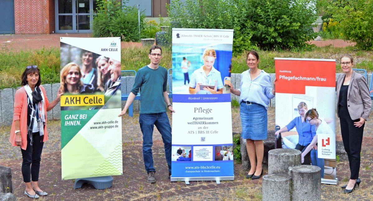 Ausbildungsverbund Celle ebnet den Weg für die neue generalistische Pflegeausbildung Pflegefachfrau/Pflegefachmann in der Region