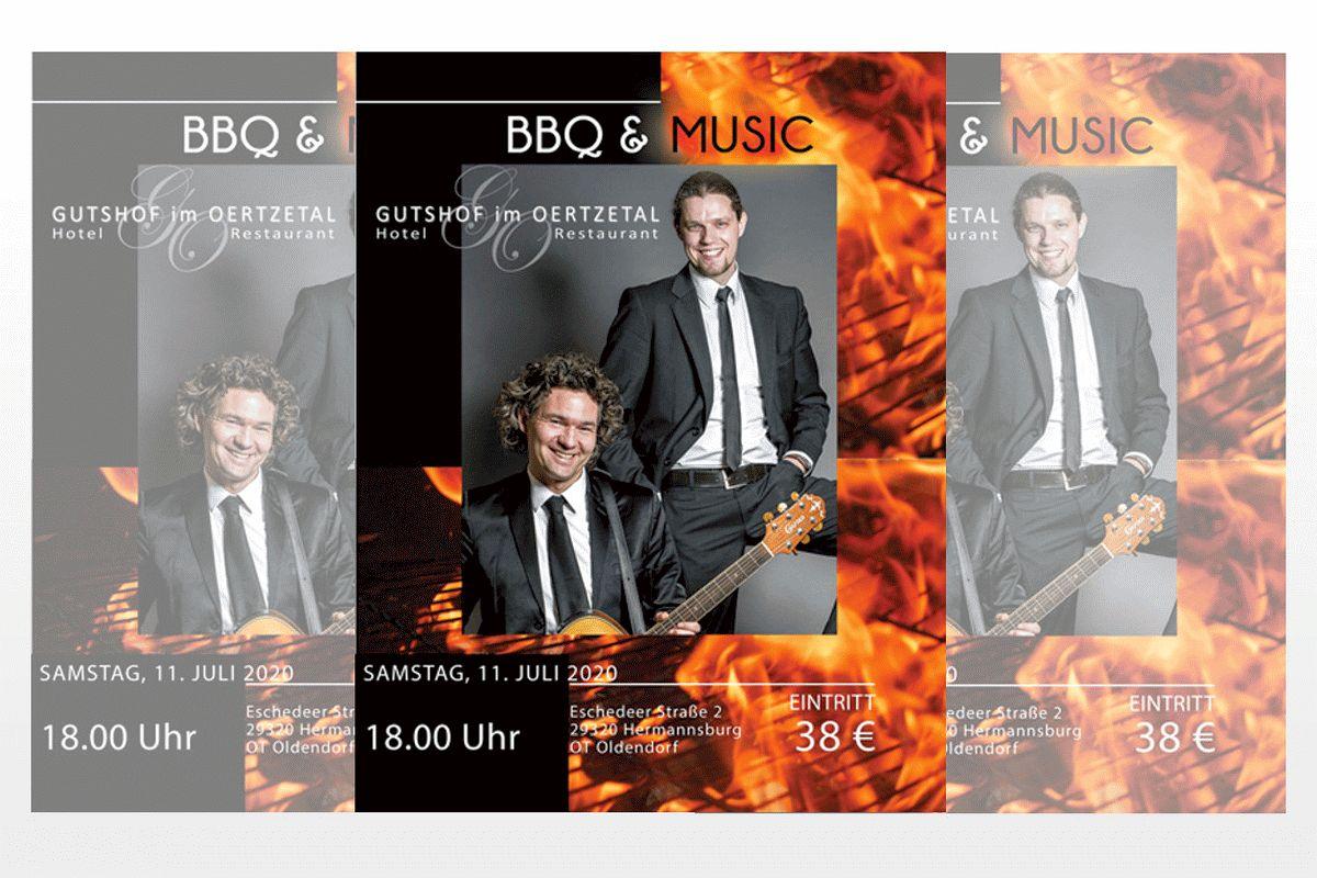 BBQ & Music: Sommer im Gutshof