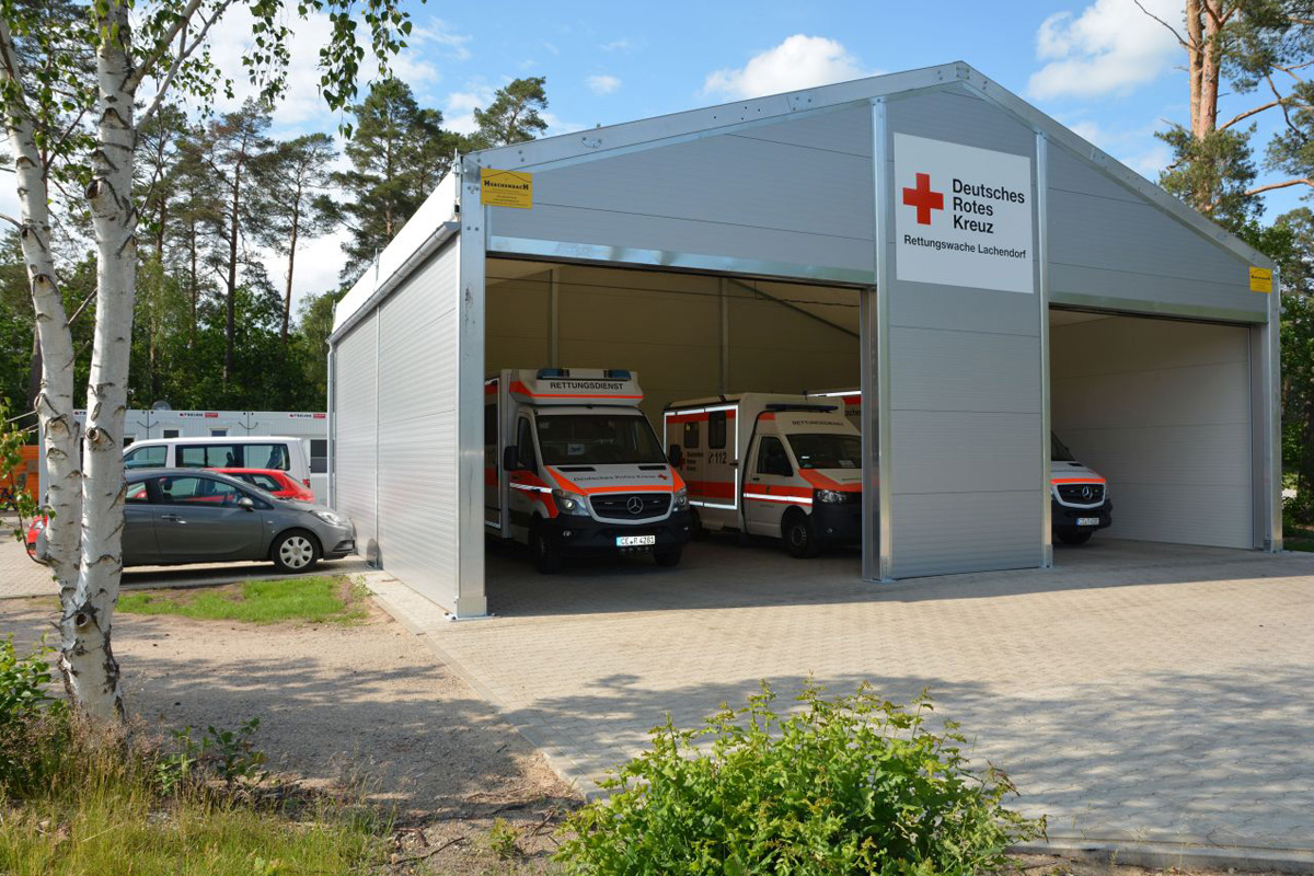 DRK-Rettungswache in Lachendorf komplett