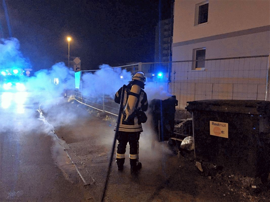 Fünf Einsätze in der Nacht – schlaflose Nacht für die Feuerwehr