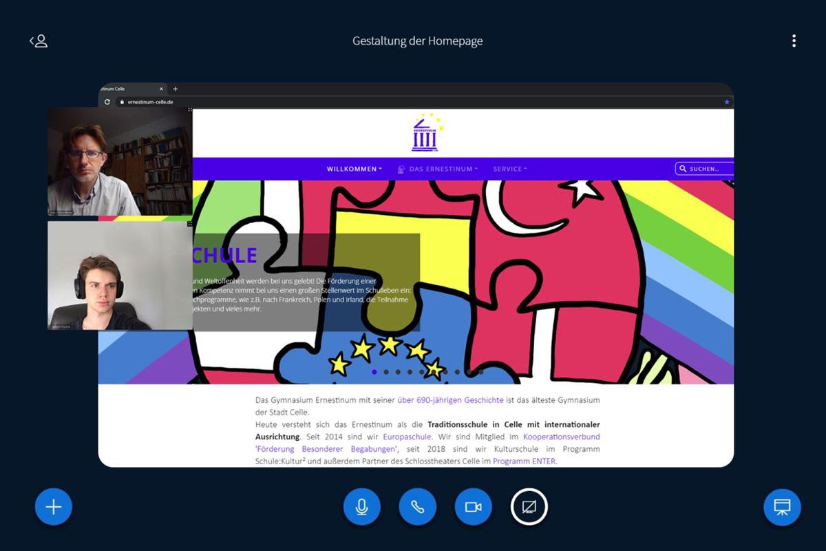 Gymnasium Ernestinum mit neuer Homepage – Ehemaliger Schüler unterstützt schuleigene Arbeitsgruppe bei ehrgeizigem Projekt