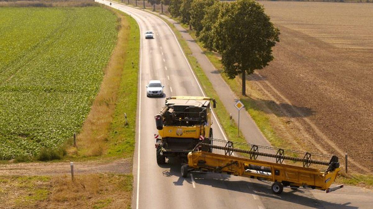 In der Ernte bitten Bauern um Rücksichtnahme – Verkehrssicherheitskampagne #agrarFairkehr in den sozialen Medien