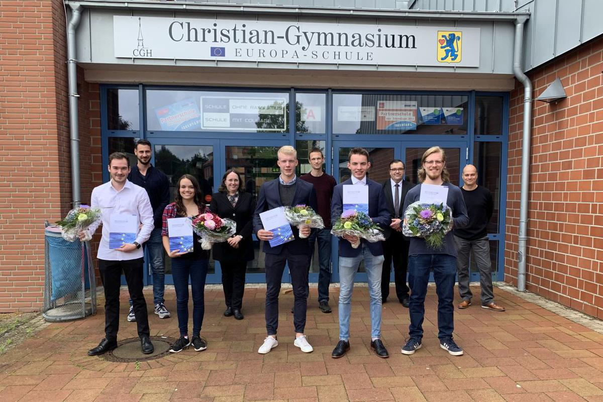 Kleinste Abiturentlassung der Geschichte am Christian-Gymnasium Hermannsburg