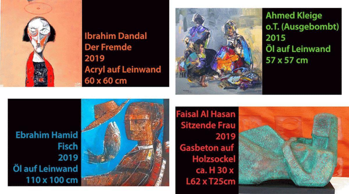 In ihrer Heimat bekannte Künstler – jetzt in Deutschland und Europa –  atelier 22 zeigt Künstler aus dem Orient
