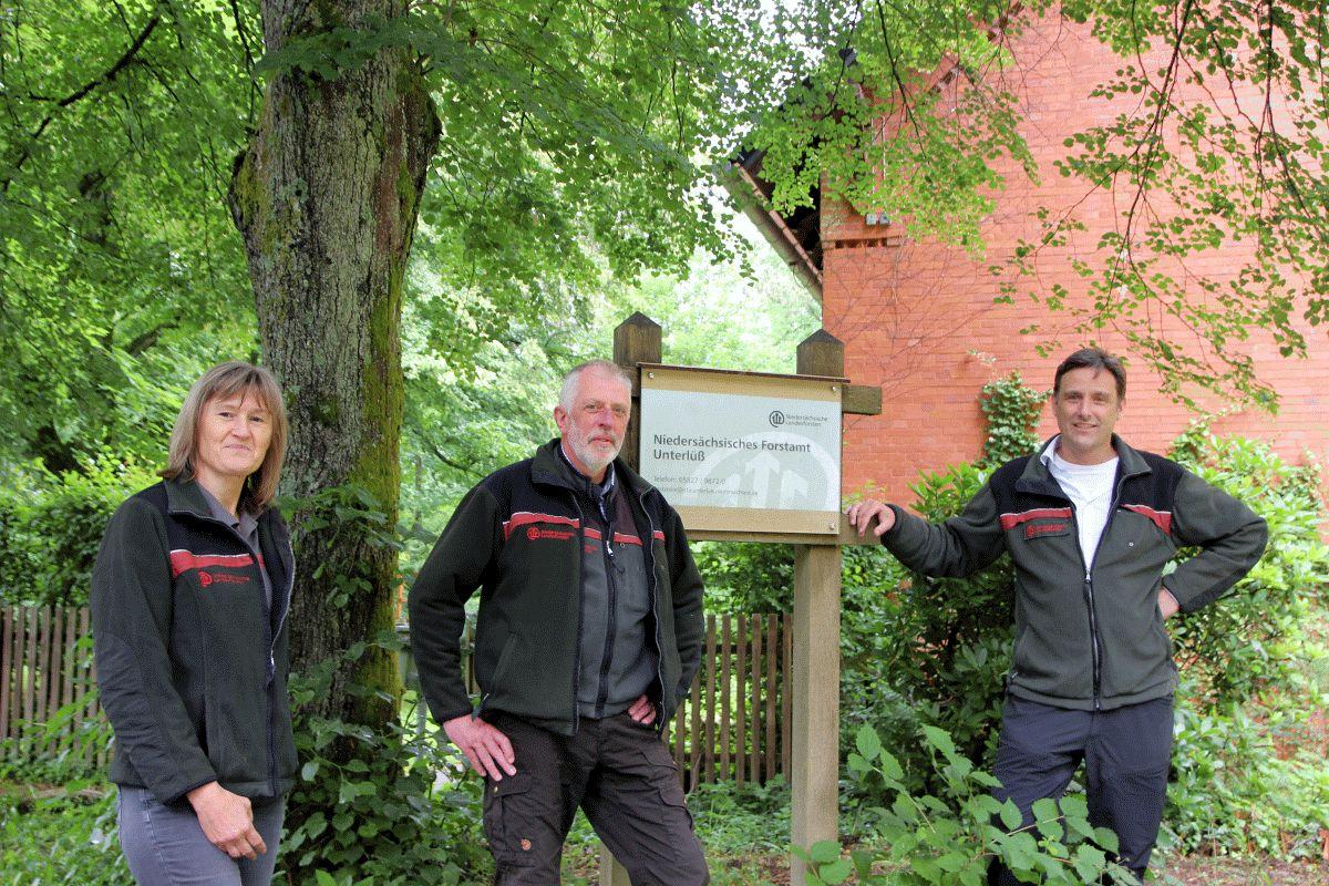 Personal-Wechsel im Forstamt Unterlüß