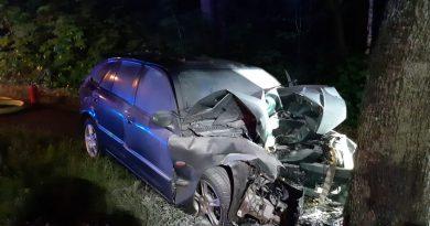 Schwerer Verkehrsunfall unter dem Einfluß alkoholischer Getränke