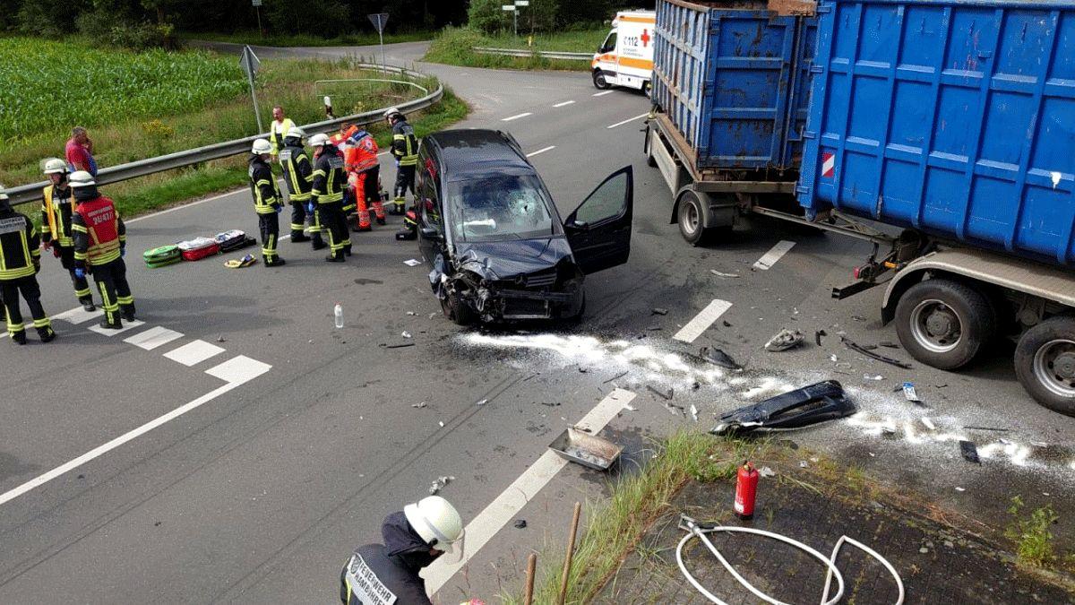 Verkehrsunfall – nicht ansprechbare Person *** aktualisiert