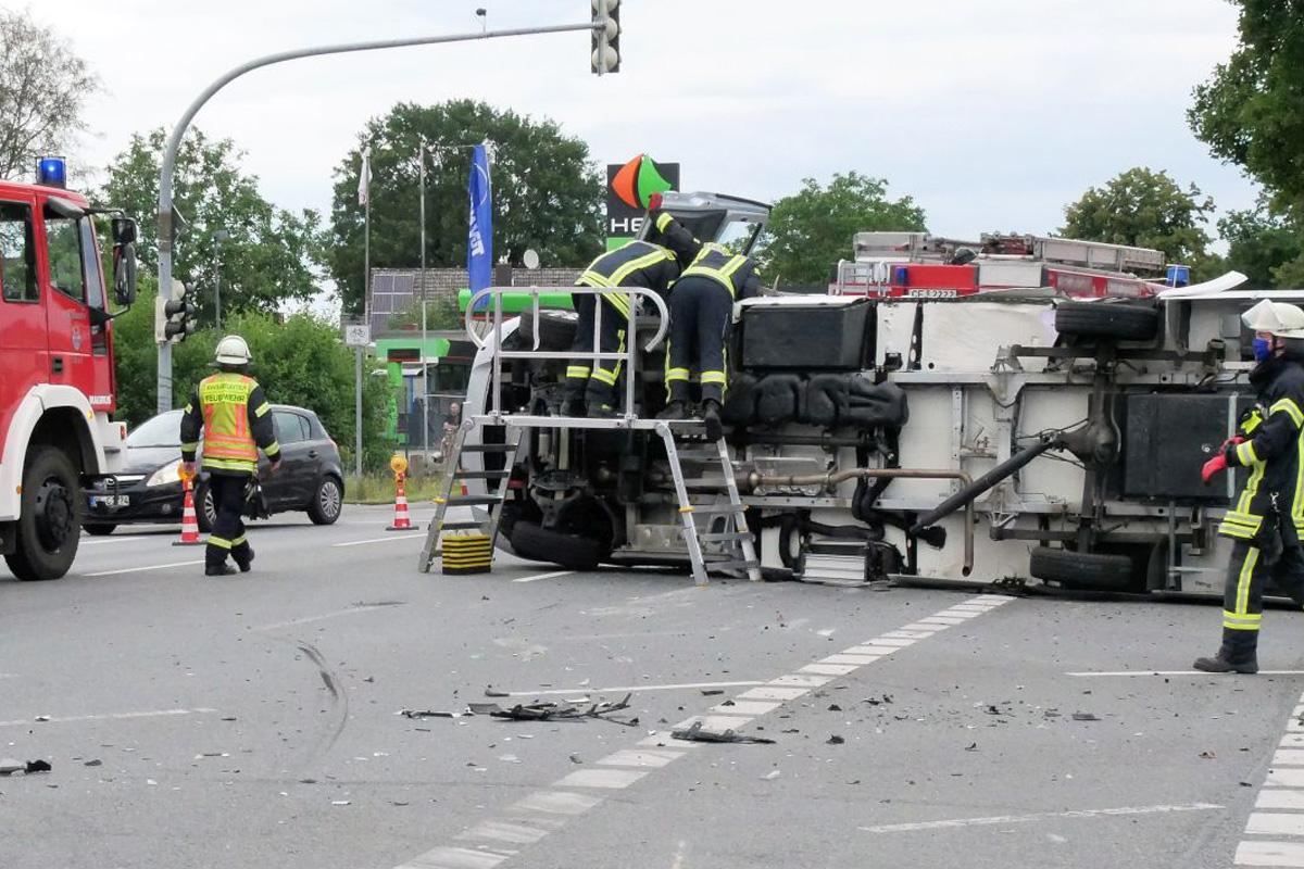 Verkehrsunfall in Garßen *** aktualisiert