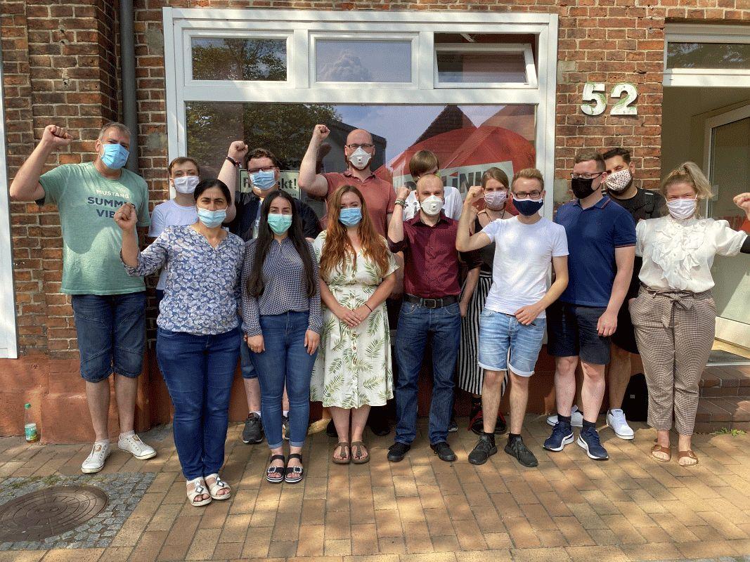 Am Sonntag hat sich in Celle im Büro der LINKEN die Linksjugend ['solid] Südheide gegründet