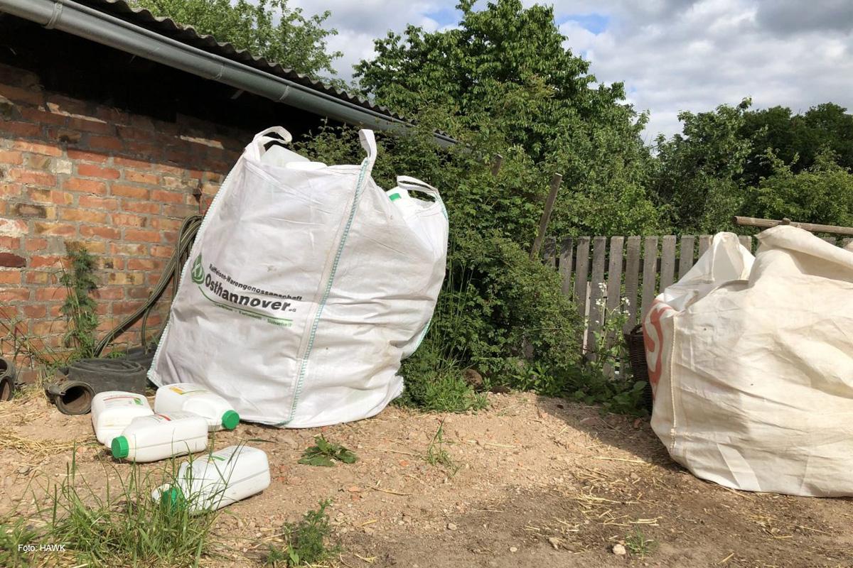 Aus Spritzmittelkanistern werden Kabelschutzrohre – Landwirte schätzen hohe Recyclingquote