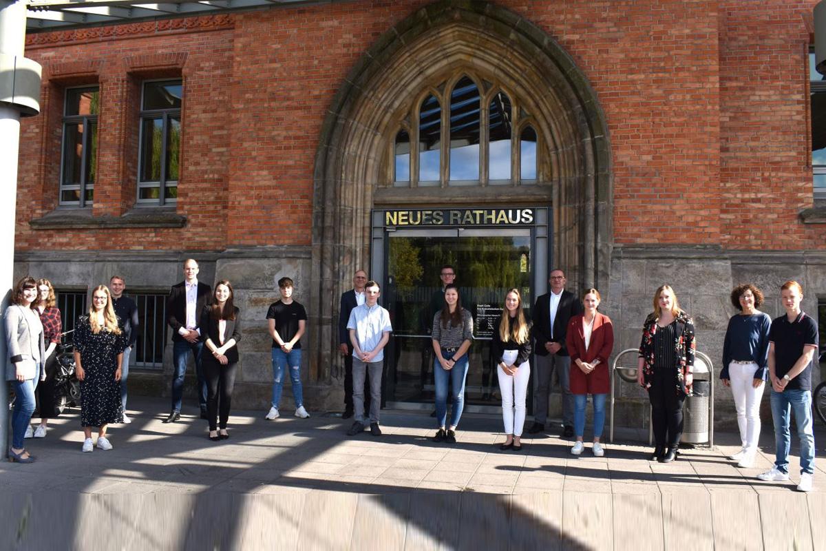 Ausbildungsstart im Rathaus – Verwaltung heißt neue Azubis willkommen