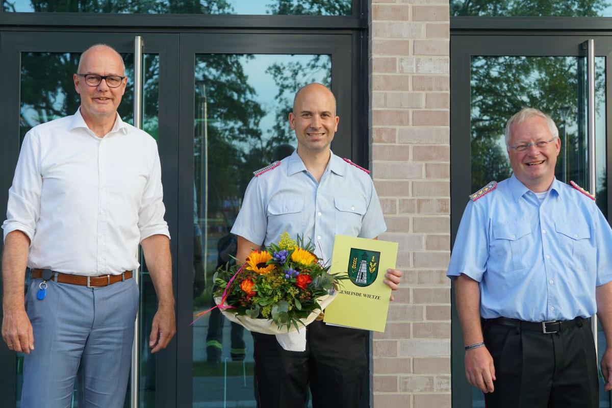 Benjamin Pawlak als Stellvertretender Ortsbrandmeister bestätigt