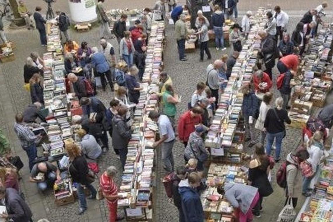Bibliotheksgesellschaft sagt beliebten Bücherflohmarkt ab