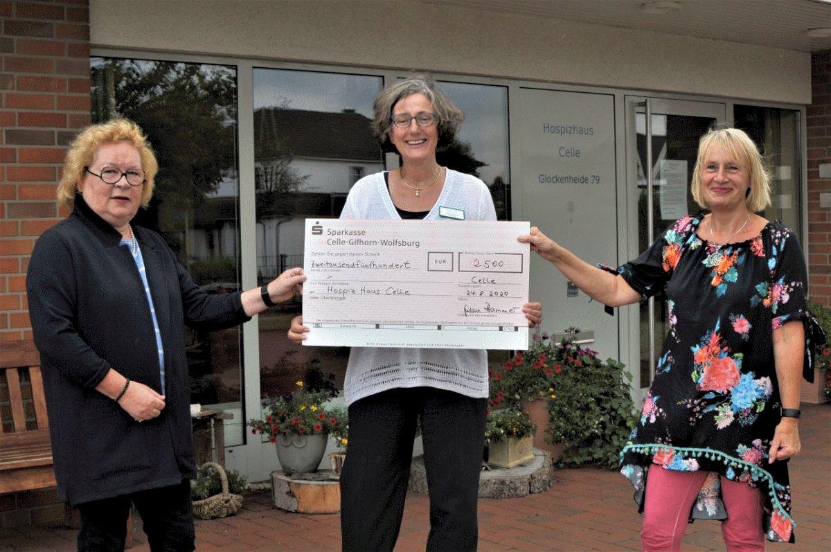 Bürgerstiftung Region Bergen unterstützt das Hospiz mit 2.500 Euro