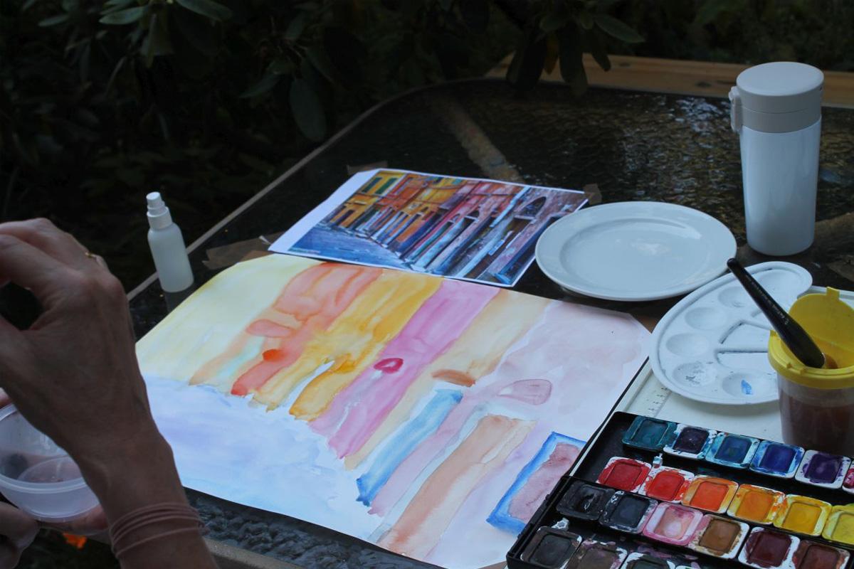 Multilinguales SommerCamp fördert die Resilienzbildung – Drei kolumbianische KünstlerInnen zu Gast in der KulturTrif(f)t