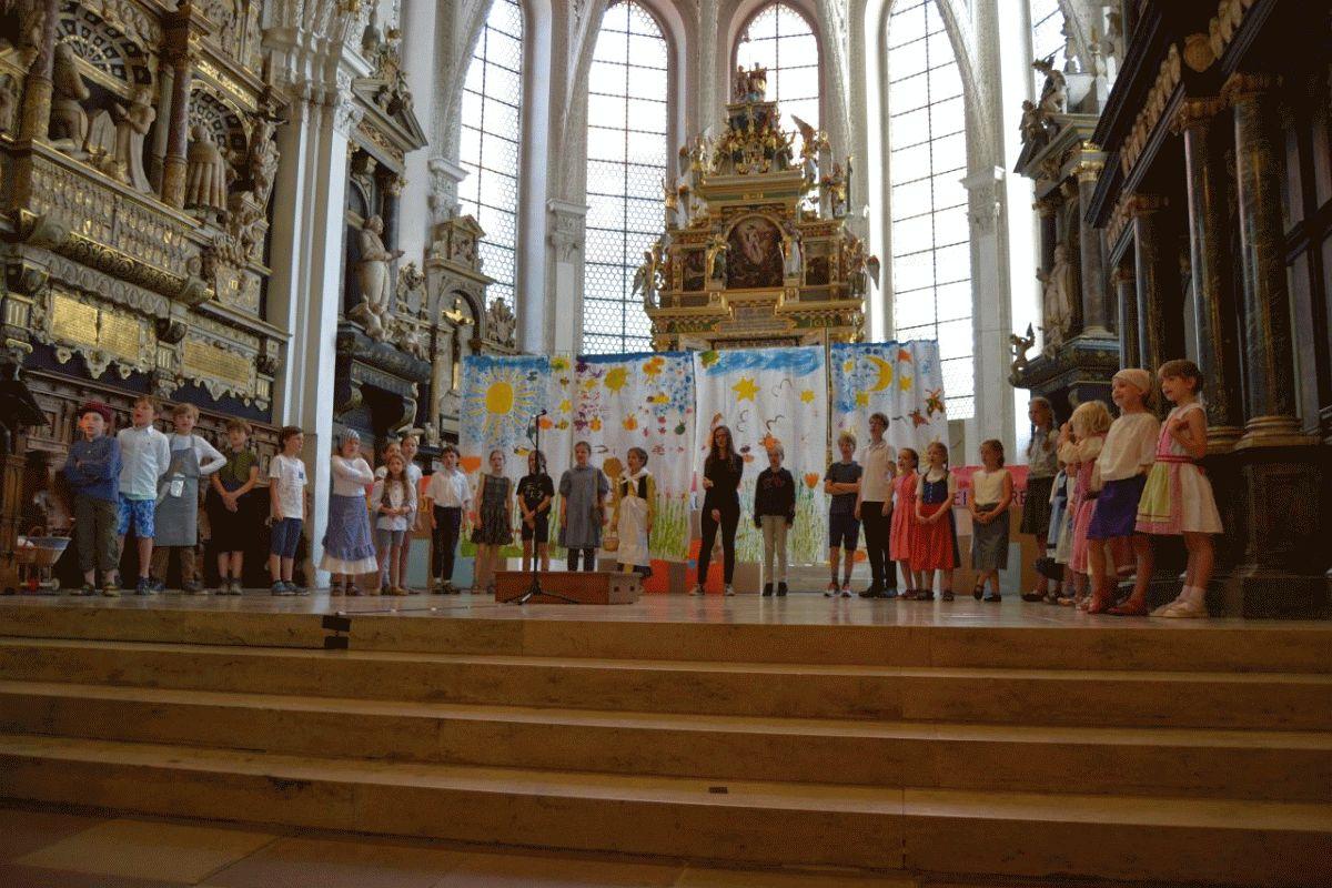 Musik in der Stadtkirche St. Marien Celle: Singschule Celle in Corona-Zeiten