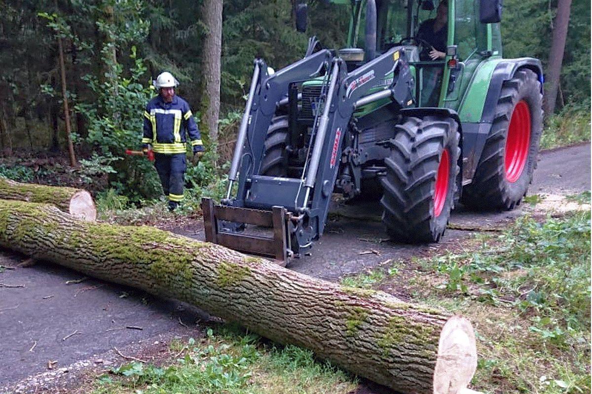Sturmtief Kirsten zieht über die Samtgemeinde Flotwedel