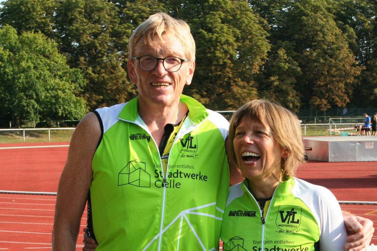 Suchy und Sommer beim Triathlon in Oschersleben auf dem Podium