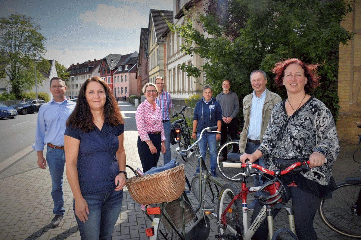 CDU im Gespräch mit dem ADFC über Möglichkeiten zur Verbesserung der Fahrradinfrastruktur in Celle