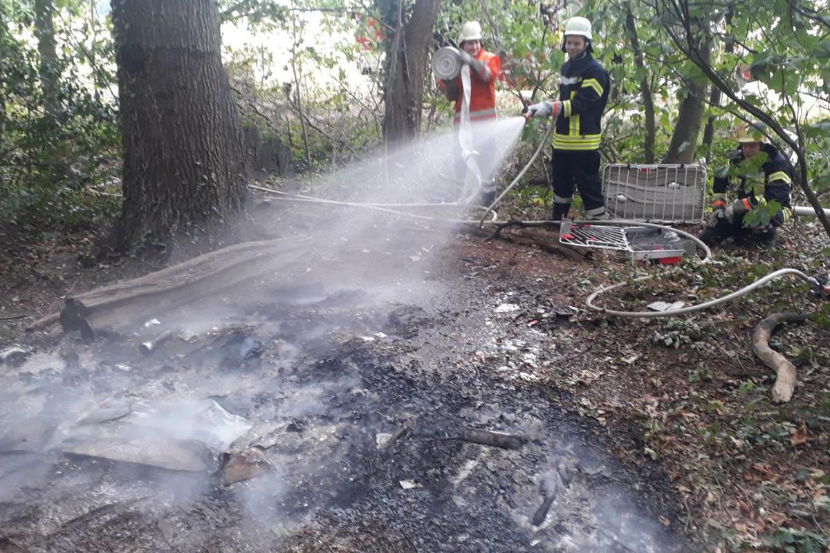 Feuerwehren der Samtgemeinde Flotwedel rücken zu zwei Einsätzen am Donnerstagnachmittag aus