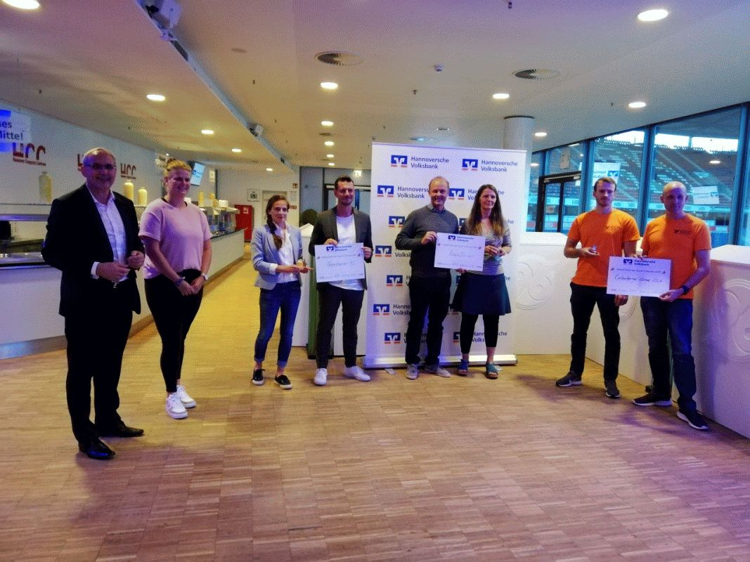 """Hannoversche Volksbank ehrt Sportvereine für gesellschaftliches Engagement:""""Großer Stern des Sports 2020"""" geht an IcanDo e.V. – Projekt """"IcanDo@School"""" gewinnt"""