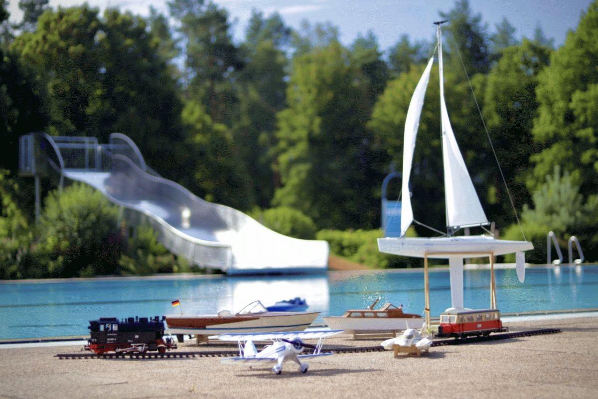 Modellbauausstellung und Schaufahren zum Saisonabschluss im Faßberger Waldschwimmbad am 20.09.2020