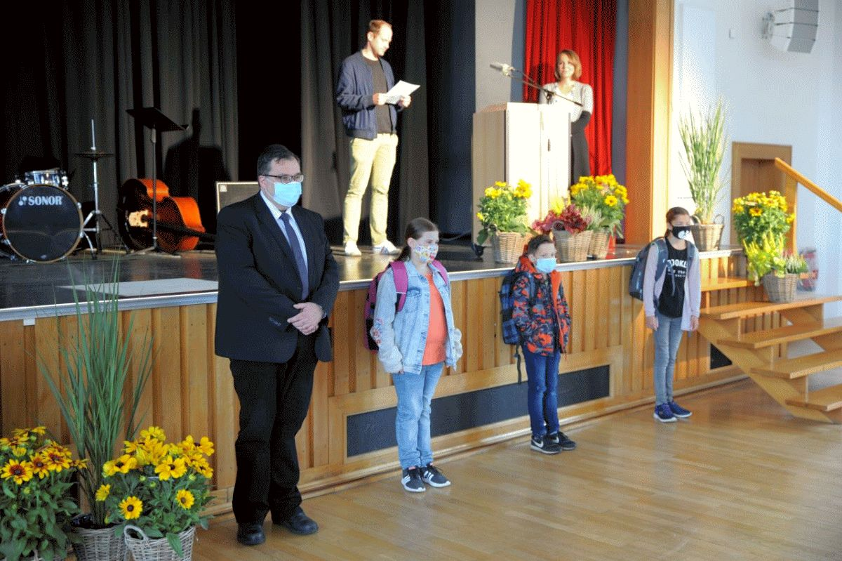 Neue Fünftklässler: Einschulungsfeiern am CGH