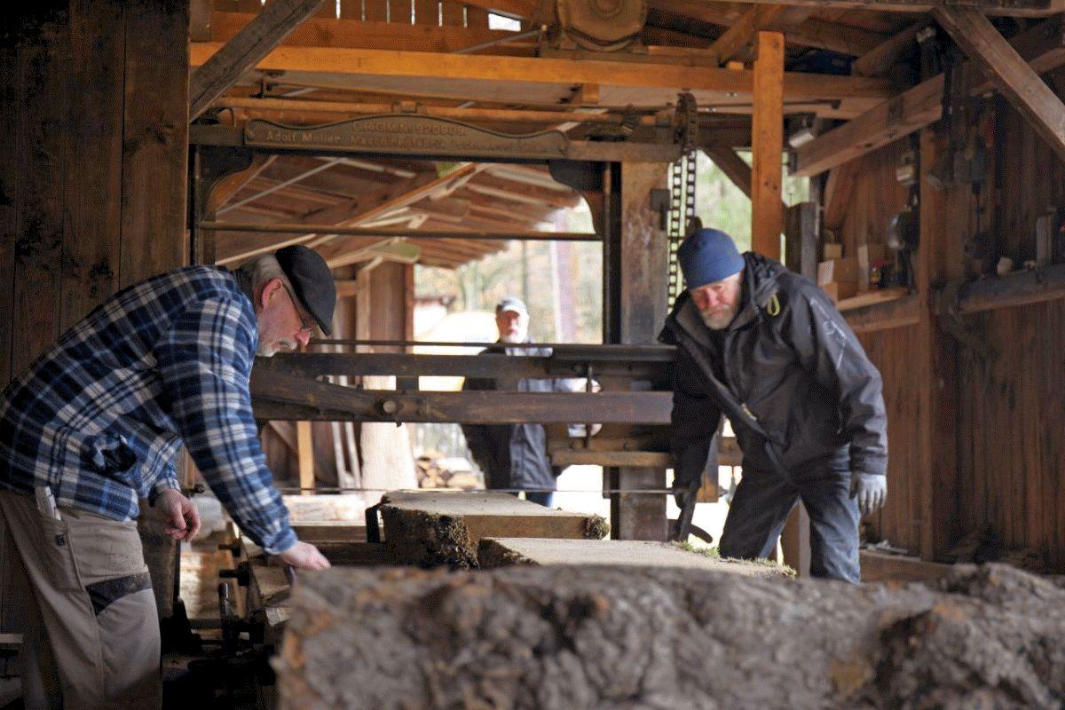 Techniktag rund ums Thema Holz im Museumsdorf Hösseringen