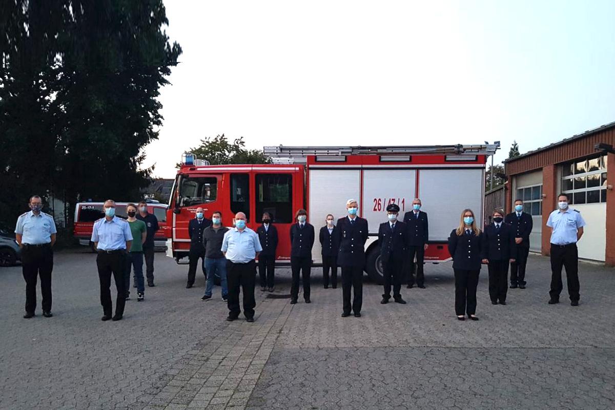 Truppmann-I-Ausbildung der Freiwilligen Feuerwehren Winsen, Hambühren und Wietze