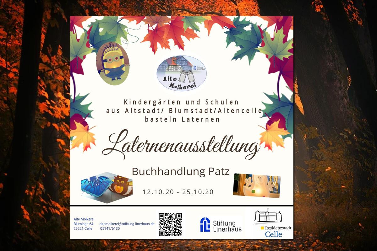 Ausstellung statt Laternenumzug bis zum 26. Oktober in der Blumlage
