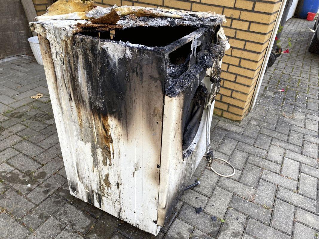 Brennende Waschmaschine ruft Löschzug Langlingen auf den Plan